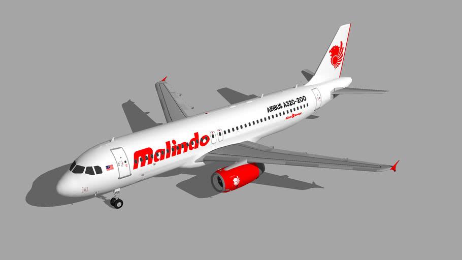 Malindo Air Airbus A320-200 1