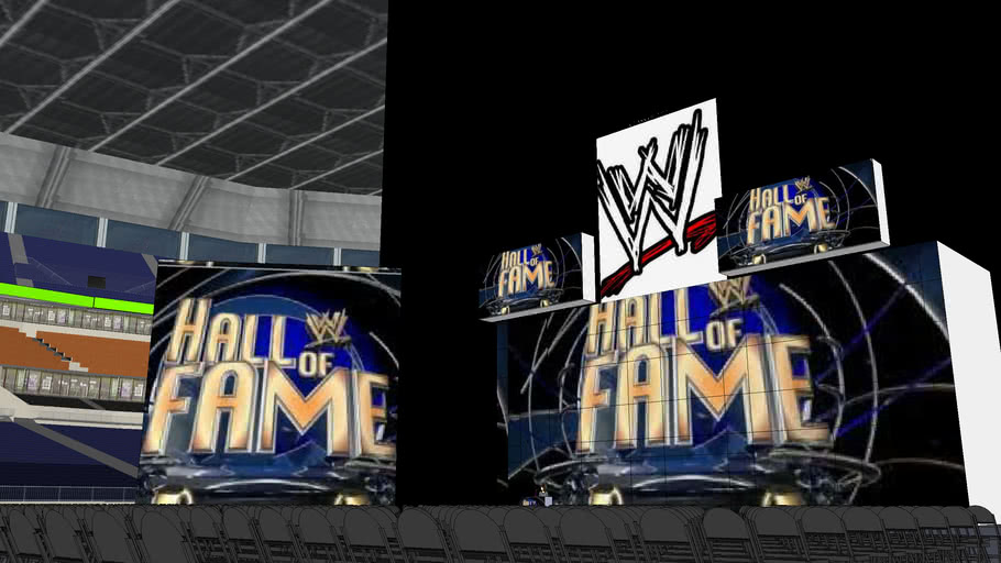WWE 2012 Hall of Fame arena (or not)