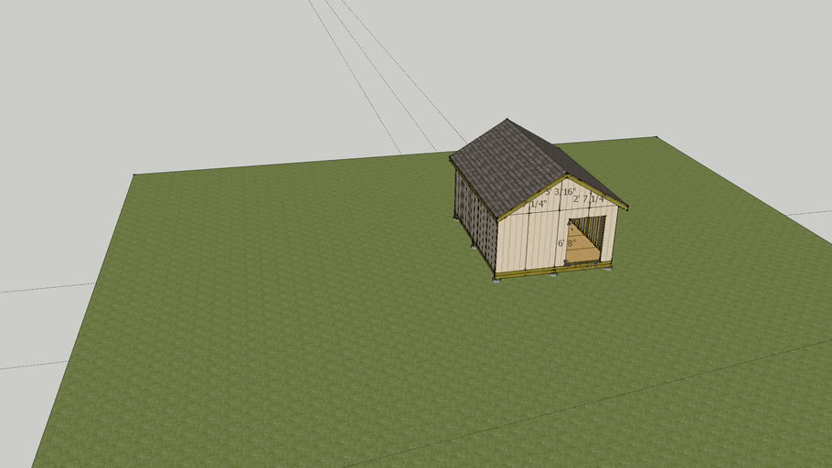 16 x20 shed