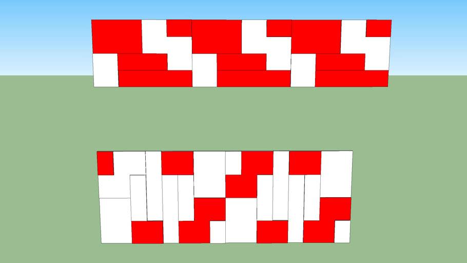 Modelo Mosaico quadrado grande