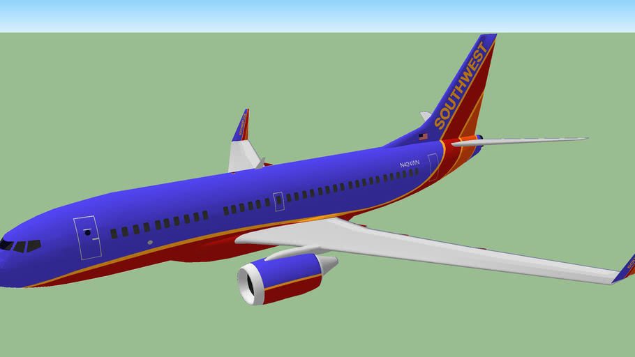 Southwest Airlines (2012) - Boeing 737-700W Landing gears up.