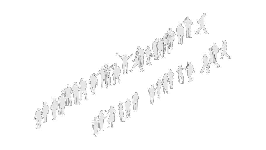 2D People