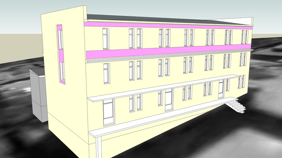 JAIL HOUSE-BUILDING NR 3 ON 8  WALY JAGIELLONSKIE STREET IN BYDGOSZCZ