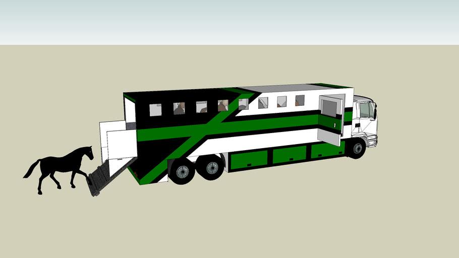 Camion de chevaux