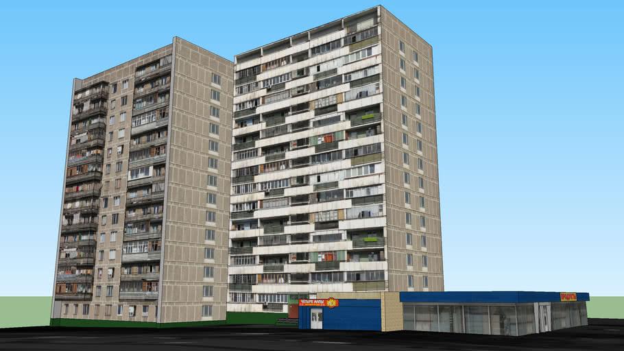 Чертановская улица, 63к1,2