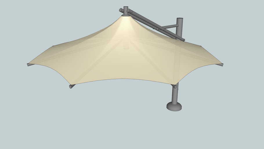 4.3R - Freedom Umbrellas - Alfresco Shade