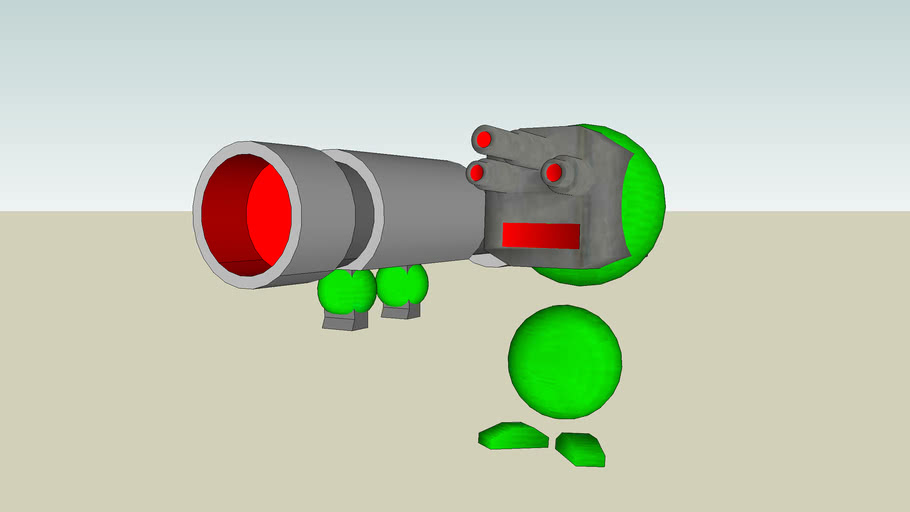 Sphere Man Cannon