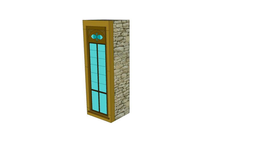 hradne okno velke