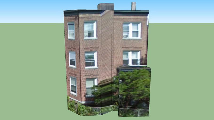 Apartment Complex in Allston, Boston, MA, USA