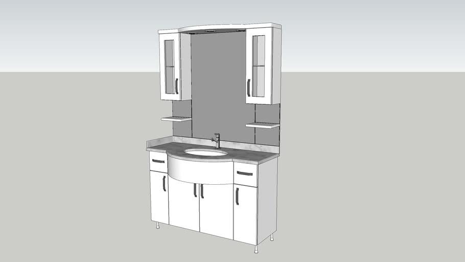 Bathroom Cabinet 3d Warehouse, Bathroom Cabinet Warehouse