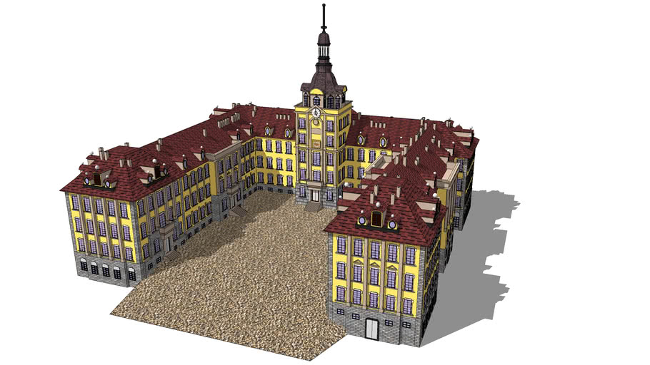 Buildings -  Zerbst Castle