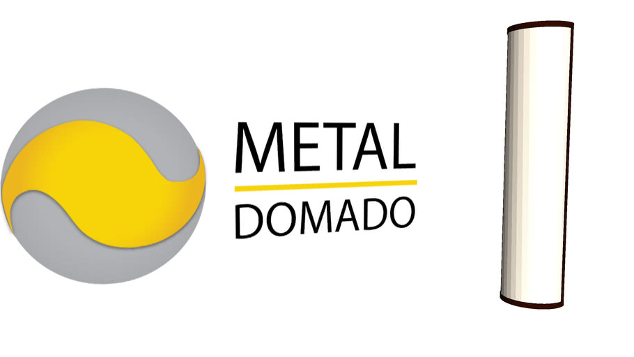 Metal Domado   Arandela Telha Redonda