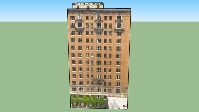 Bâtiment situé Détroit, MI, USA