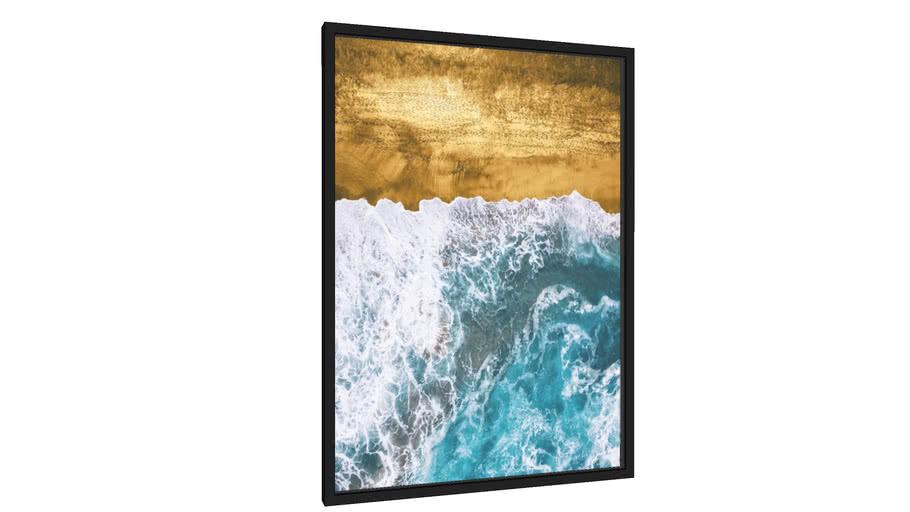 Quadro Beach 1 - Galeria9, por Art Design Works
