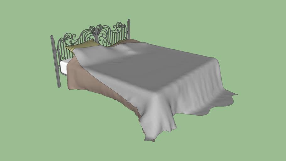 Queen Bed *UPDATED (High Detail Fabrics)