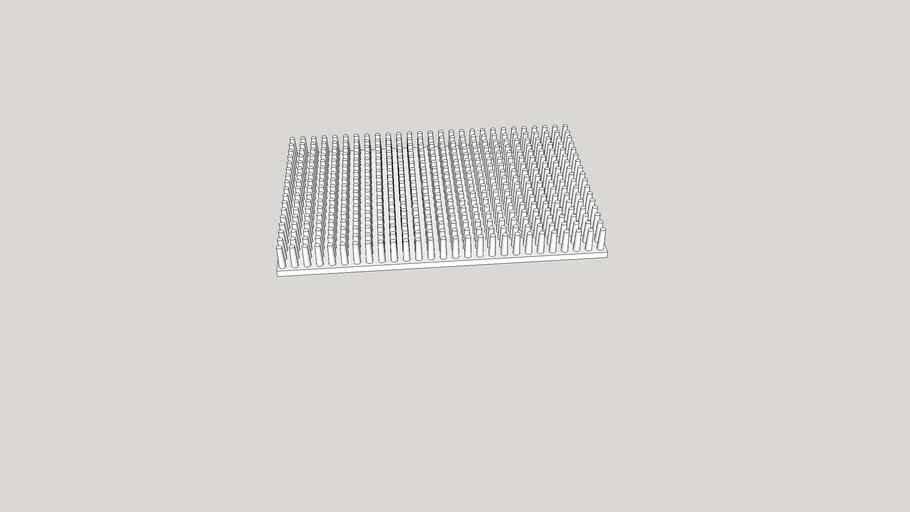 Радиатор Игольчатый И-150 (190 x 120)
