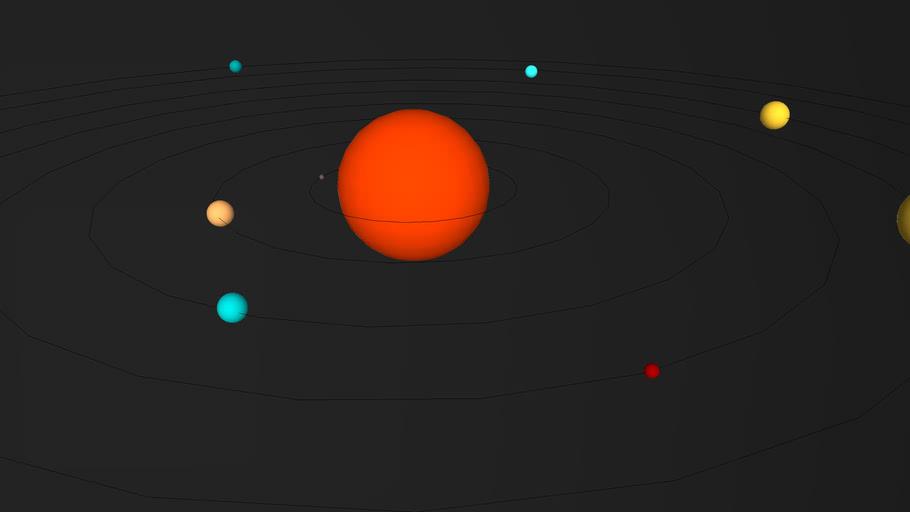 Solar System 2011
