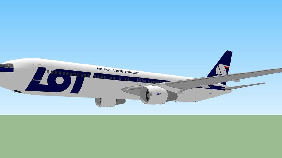 LOT Polish Airlines (2011) - Boeing 767-300.
