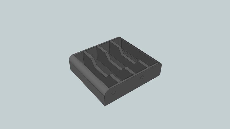 4X1 AA size battery holder Heathfield Systems course