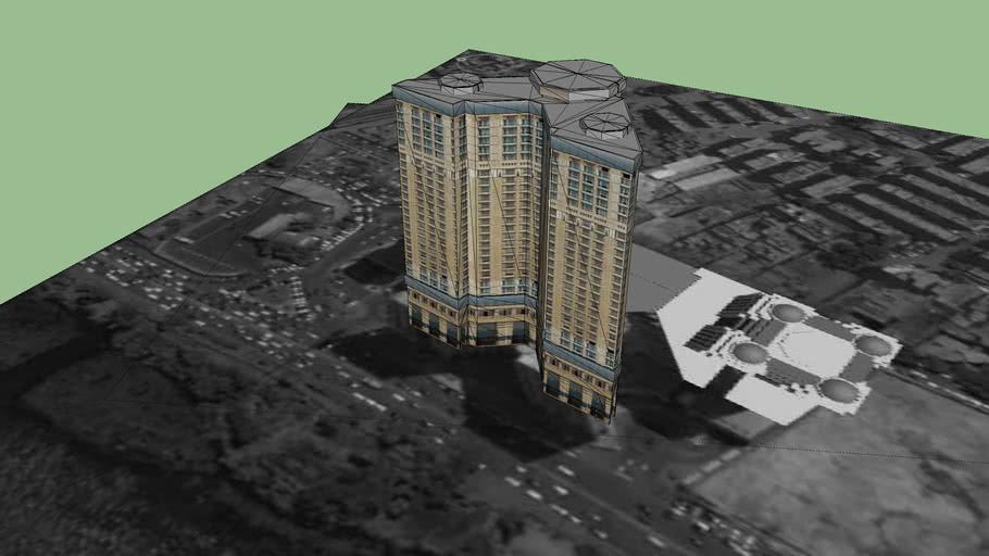 nile plaza hotel by arch:mohammed sharaf eldeen