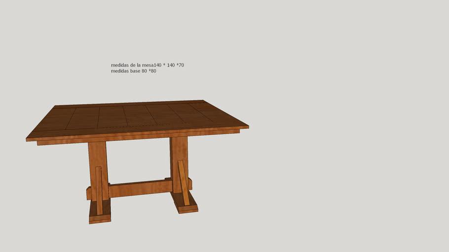 mesa Rodolfo