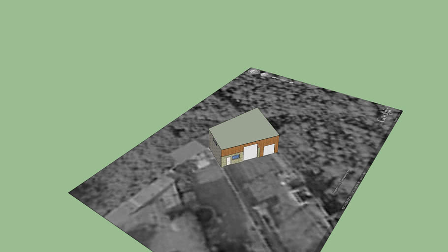 Alan Coles Proposed Shed