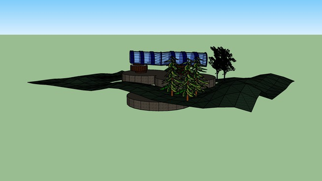 ARCH1101 - EXP1 2008 - CHRIS TRAN - MODEL SECTION