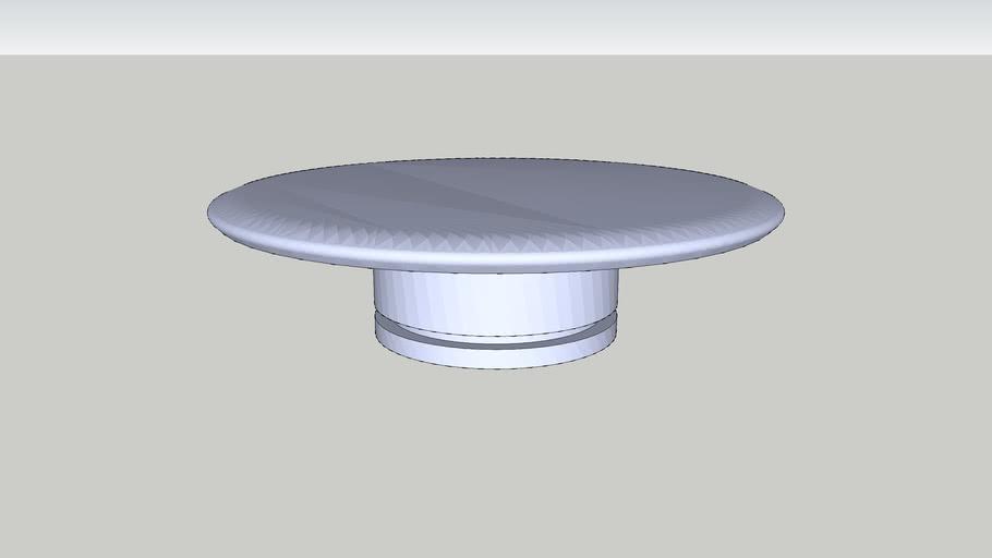 MESA DE CENTRO CISA - INFERIOR - 900X900X240