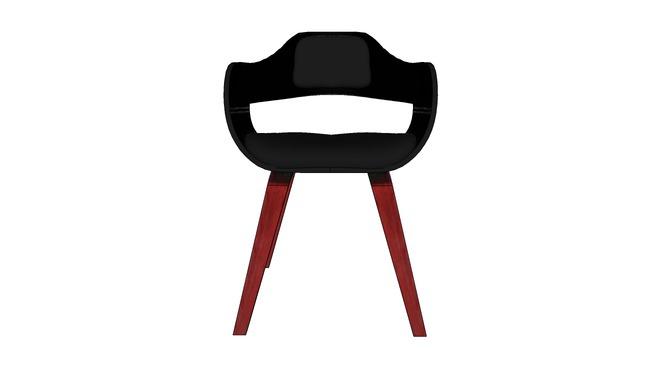 78581 Chair with Armrest Costa Walnut ( Stuhl mit Armlehne Costa Walnut )