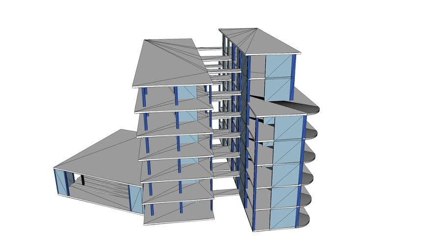 modelo estructura oficinas
