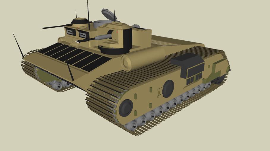 T-450 amphibious assault tank