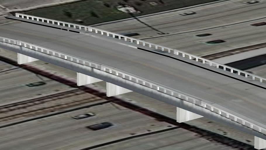 W 33rd St. Bridge over I90, Chicago, IL, USA