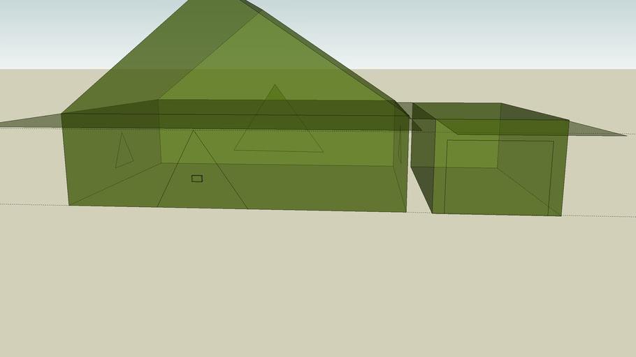 Het groen glazen huis