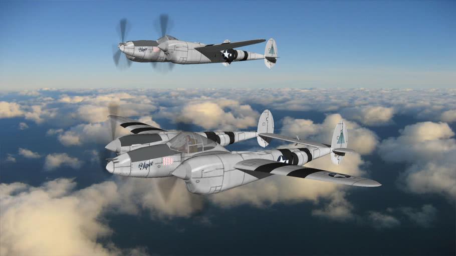 WW2+US_AIRFORCE+P3BA