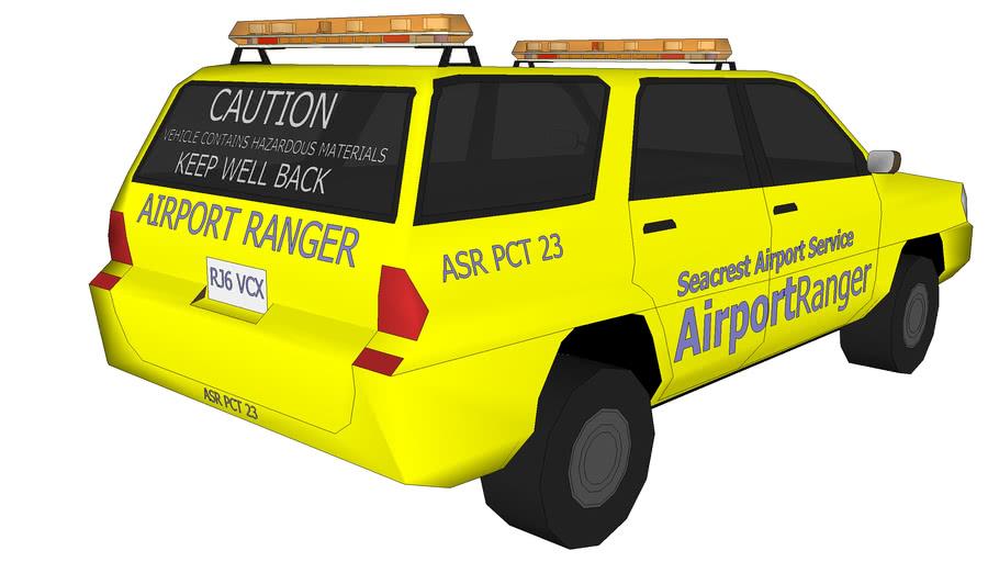 Seacrest County Airport Ranger Vehicle