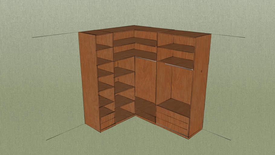 armario abierto rincon