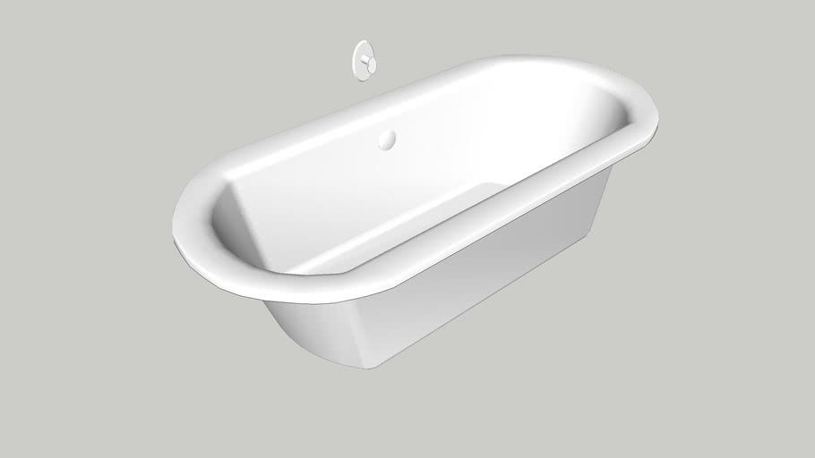 bathtube, koło, clarissa