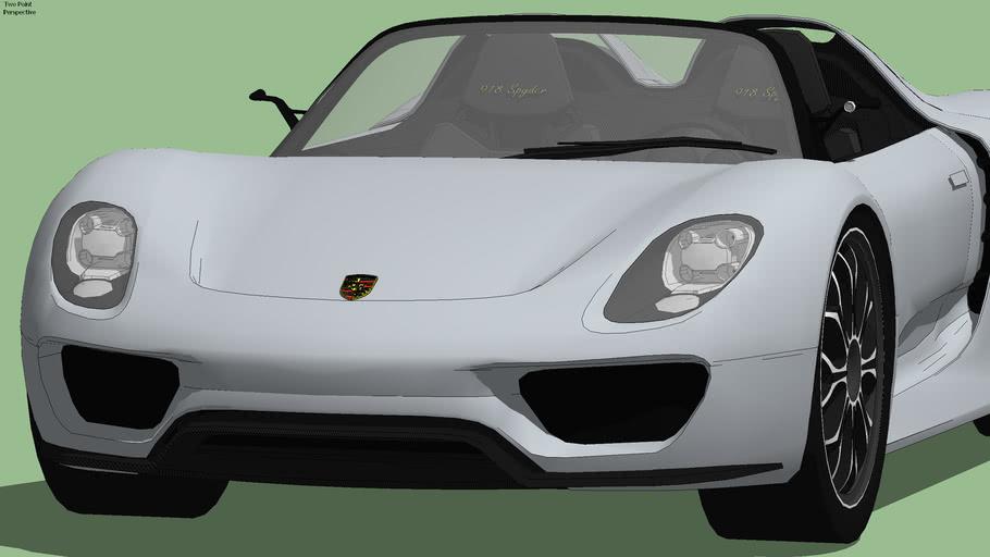 Porsche 918 Spyder Concept  2010