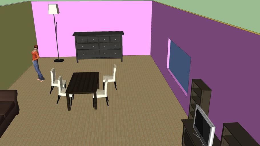 Ikea Living Room- First Design