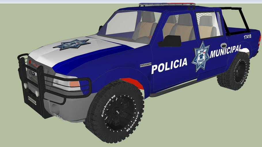 patrulla de la policia municipal preventiva de tlaquepaque jalisco