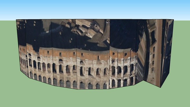 Budynek przy Rzym, Włochy