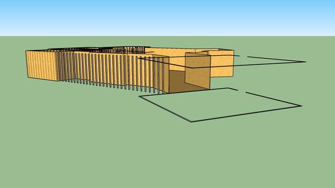 Sun Country House Framing Model
