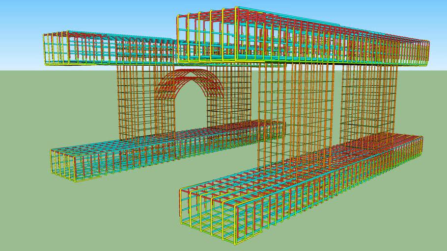 Reinforced Bridge Column& Beams