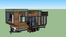 Tiny House Plan 3d Warehouse