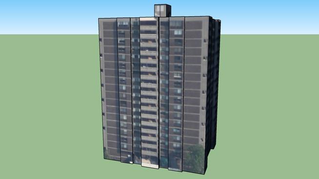 Building in Brookline, MA, USA