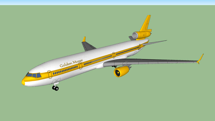 """Golden Moose Airways MD-11 """"City of Mississauga"""" (2013)"""