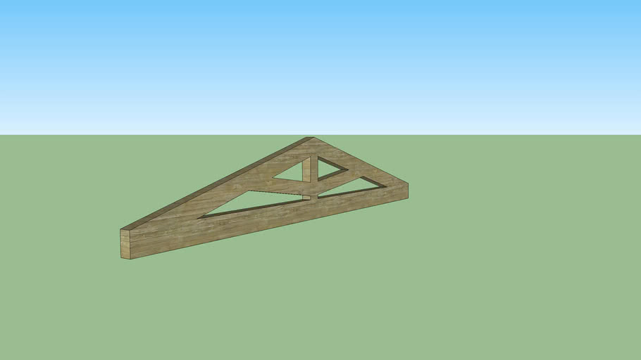 6.75 m span french barn roof truss
