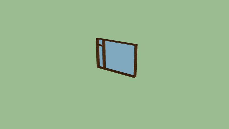 high modern window
