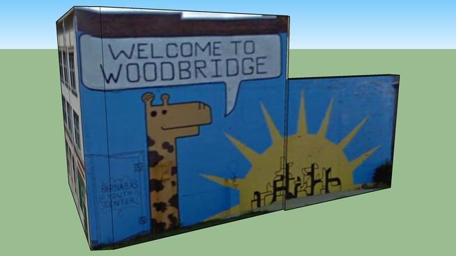 Welcome to Woodbridge; Detroit, MI, USA
