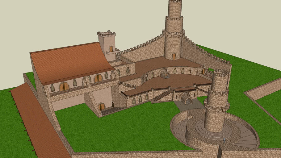 Castle #3 After Further Additions.